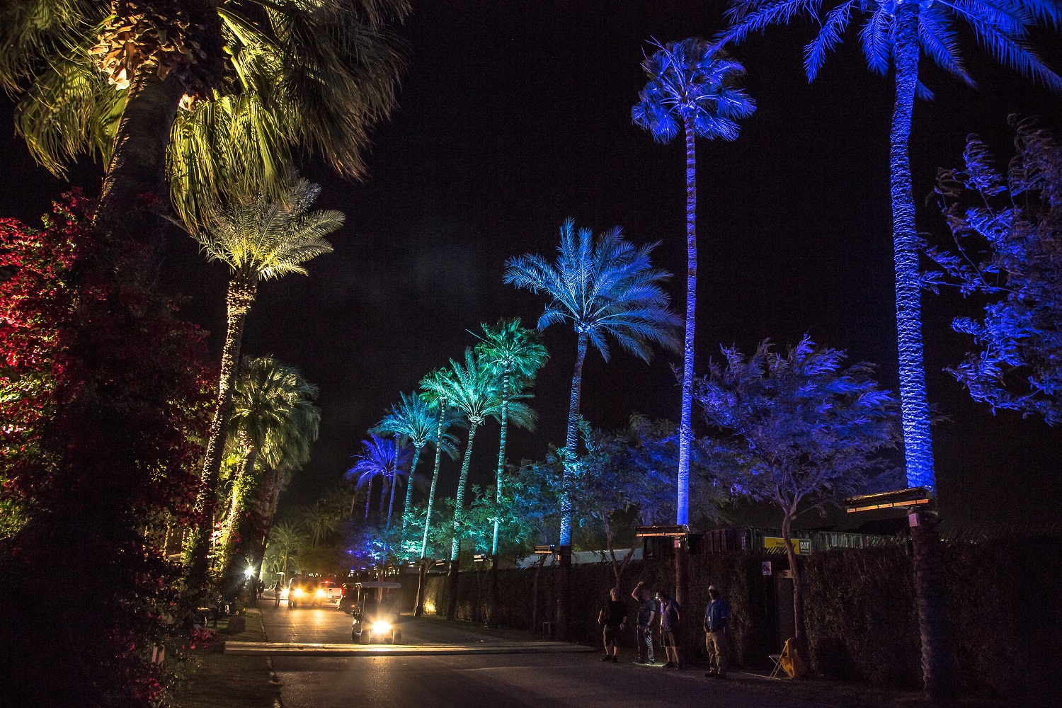 Elation Lights 2016 Coachella Tents And Festival Grounds